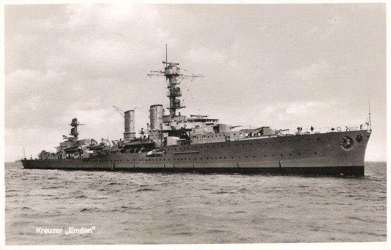 Image result for emden cruiser
