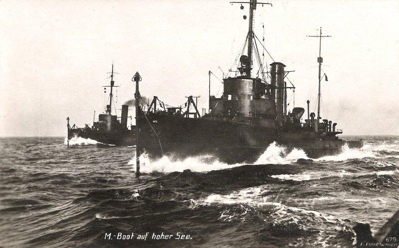 Minensuchboot 1916 Photos